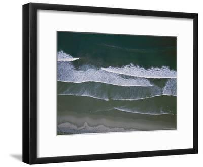 Waves Rippling on a Beach