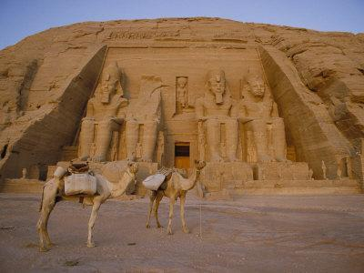 A View of the Ramses Ii Temple