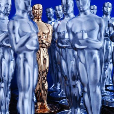 Motion Picture Academy, the Oscarsoscar Statuette at Academy Awards Theater, Hollywood by Bill Eppridge