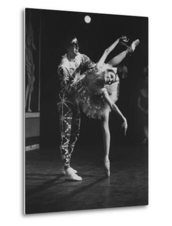 "New York City Ballet Company Stars Edward Villella and Patricia Mcbride Performing ""Harlequinade"" by Bill Eppridge"