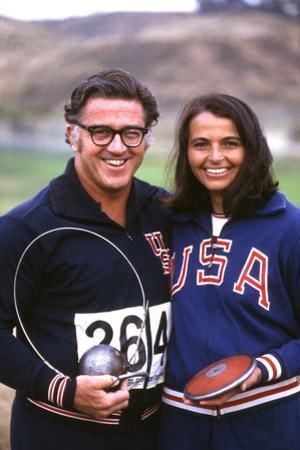 Olympic Athletes Harold Connolly and His Wife Olga in Los Angeles Pre-Olympics 1972 by Bill Eppridge