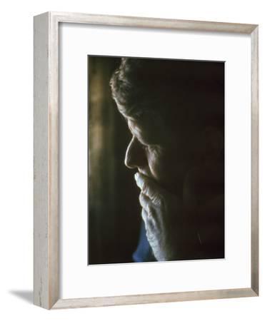 Pensive Portrait of Robert F. Kennedy