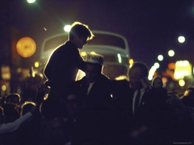 Presidential Contender Bobby Kennedy Campaigning by Bill Eppridge