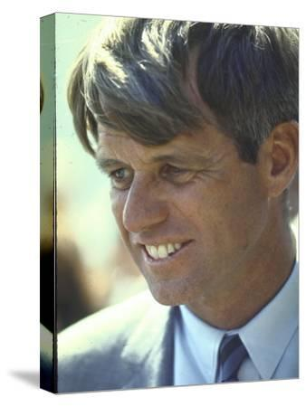 Presidential Contender Bobby Kennedy During Campaign