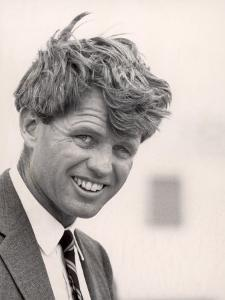 Robert F. Kennedy During Campaign Trip to Support Local Democrats Running for Election by Bill Eppridge