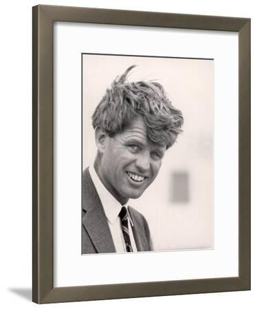 Robert F. Kennedy During Campaign Trip to Support Local Democrats Running for Election
