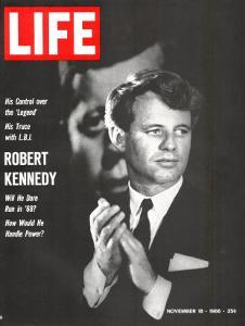 Robert Kennedy, Will He Dare Run in 68, November 18, 1966 by Bill Eppridge