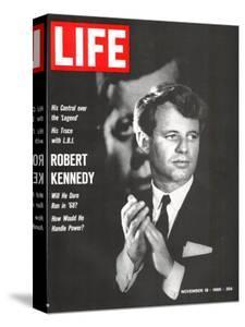 Robert Kennedy, Will He Dare Run in 68, November 18, 1966 by Bill Eppridge