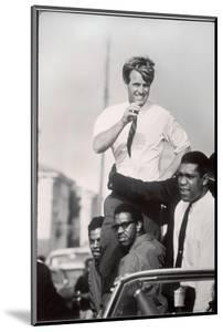Senator Robert F. Kennedy Campaigning During the California Primary by Bill Eppridge