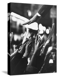 Senator Robert F. Kennedy Campaigning by Bill Eppridge