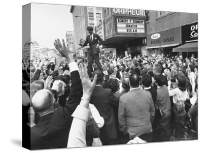 Senator Robert F. Kennedy Campaigning