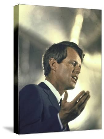 Senator Robert Kennedy on Campaign Trail During Presidential Primary Season