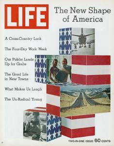 The New Shape of America, January 8, 1971 by Bill Eppridge