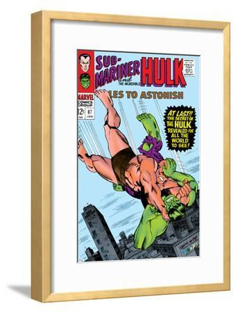 Tales to Astonish No.87 Cover: Hulk and Humanoid