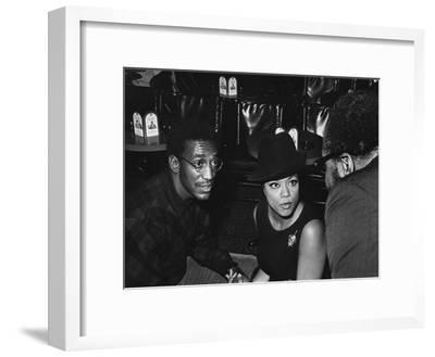 Hazel Scott and Bill Cosby March - 1968