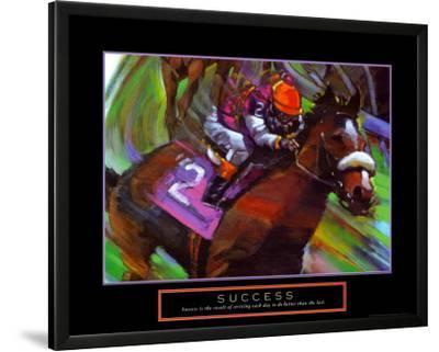 Success: Horse Race Jockey
