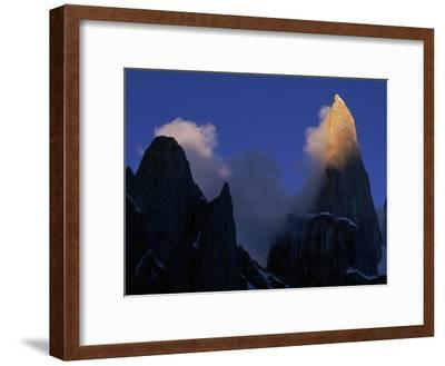Clouds Blowing Off the Peaks of the Great Trango Tower
