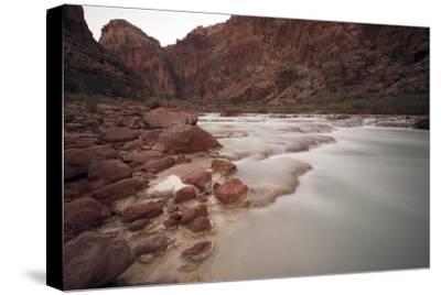 Mineral Rich Water Flowing in the Little Colorado River, Grand Canyon National Park
