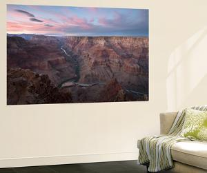 Sunset Above the Confluence of the Colorado River and the Little Colorado River by Bill Hatcher