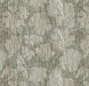 Floral Waltz Mono Taupe Oyster by Bill Jackson