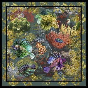 Golden Coral Seas by Bill Jackson