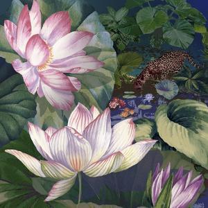 Jaguar Lily Pond by Bill Jackson