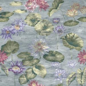Lily Pond Dove Grey by Bill Jackson