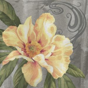 Nouveau Yellow Peony by Bill Jackson