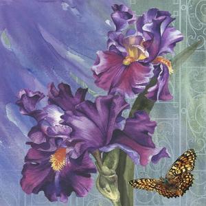 Spring Iris Garden by Bill Jackson