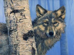 Birch Wolf by Bill Makinson