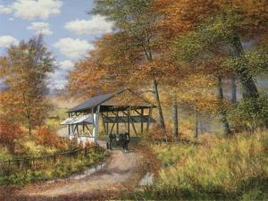 Covered Bridge by Bill Makinson