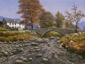 Old Packhorse Bridge by Bill Makinson