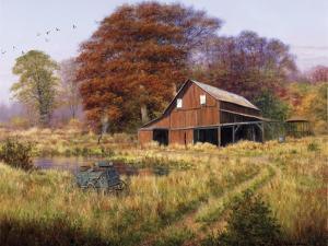 Red Barn by Bill Makinson