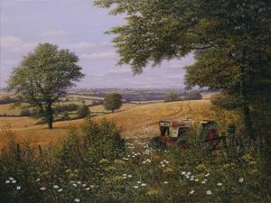 Red Tractor by Bill Makinson