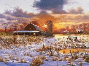 Snow Barn by Bill Makinson