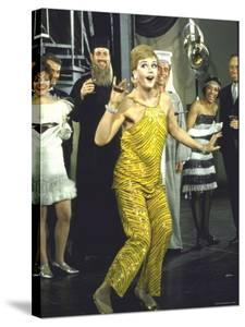 "Angela Lansbury Opens on Broadway in ""Mame"" to a Standing Ovation by Bill Ray"