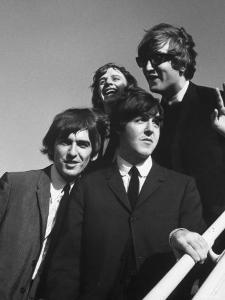 Beatles' Arrive at Airport on 2nd Us Tour by Bill Ray