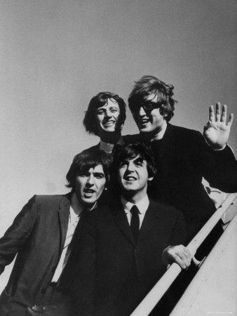 Beatles' Arriving at Los Angeles Airport on 2nd Us Tour