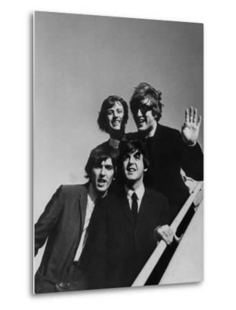 Beatles' Arriving at Los Angeles Airport on 2nd Us Tour by Bill Ray