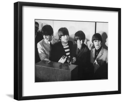 Beatles' at Press Conference in San Francisco Airport