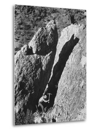 Prospector Travis Marlowe Searching Superstition Mountains of Southern, AZ, for Lost Gold Mine