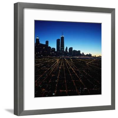 Chicago Skyline at Twilight