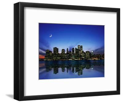 Manhattan Skyline and Reflection