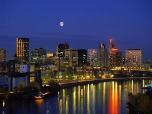St. Paul at Night by Bill Ross