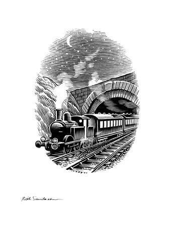 Night Train, Artwork