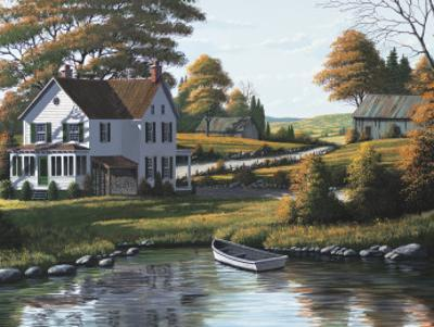 Along the Riverbank by Bill Saunders