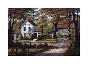 Rustling Leaves by Bill Saunders
