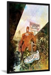 Daredevil: Redemption No.1 Cover: Daredevil by Bill Sienkiewicz