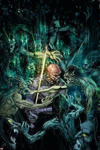 Tomb of Dracula No.3 Cover: Blade by Bill Sienkiewicz