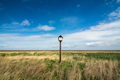 Bird Hut, Horseshoe Point, Lincolnshire, England, United Kingdom, Europe by Bill Ward